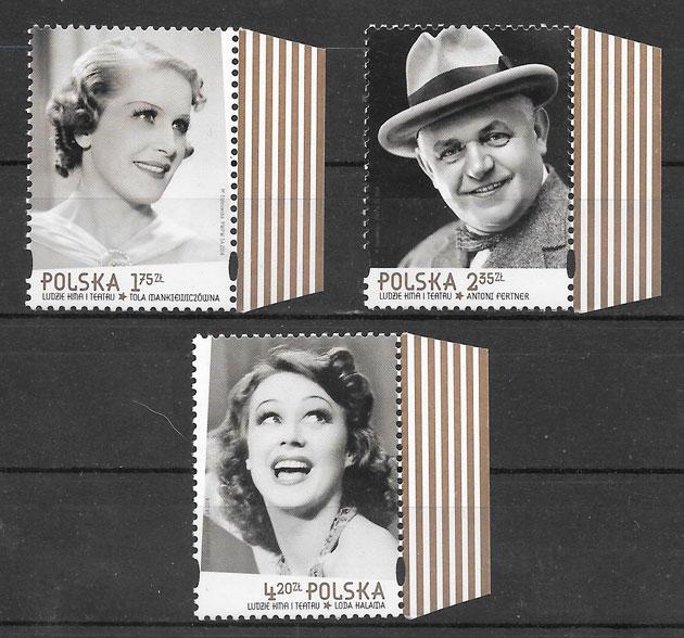 sellos cine Polonia 2014