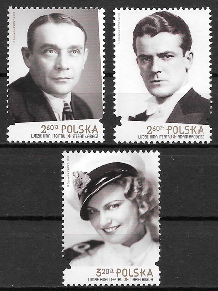 colección sellos cine Polonia 2018