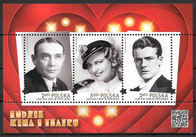 colección selos cine Polonia 2018