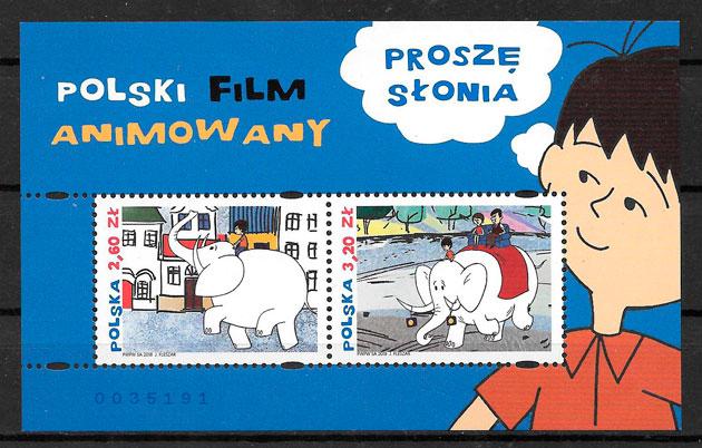 sellos cómic Polonia 2018