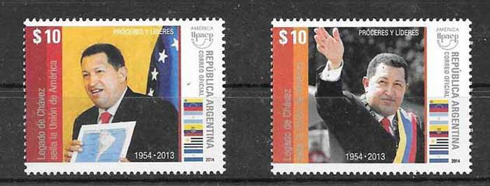 Sellos América UPAEP de Argentina