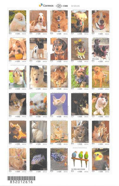 colección sellos UPAEP Brasil 2018