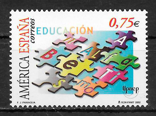 sellos upaep España 2002