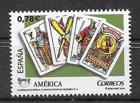 Sellos América UPAEP de España