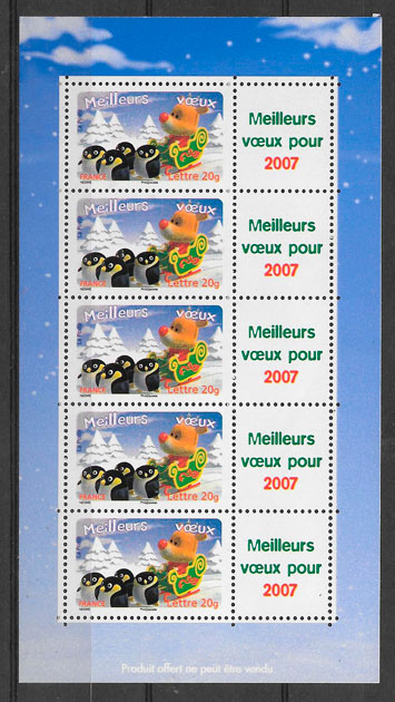 sellos cómic Francia 2006