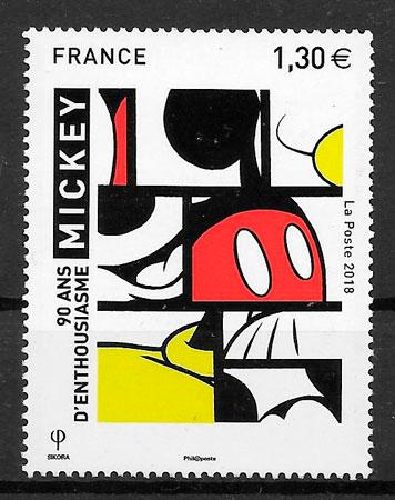 filatelia cómic Francia 2018
