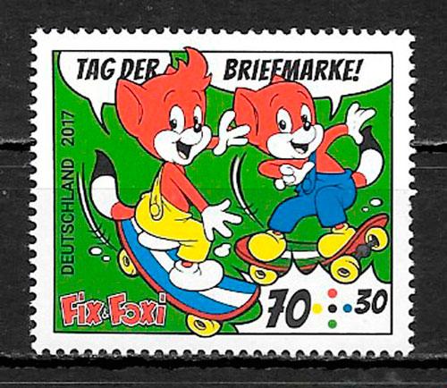 sellos cómic Alemania 2017