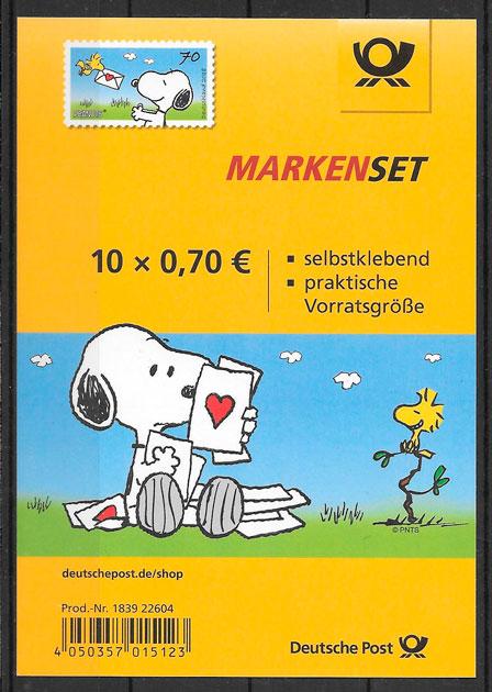filatelia de cómic de Alemania