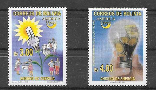 Sellos América UPAEP de Bolivia