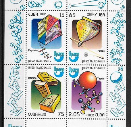 sellos UPAEP Cuba 2009