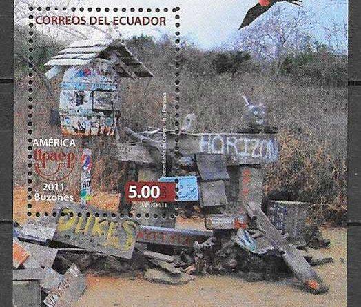 Sellos América UPAEP de Ecuador