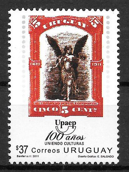 sellos UPAEP Uruguay 2011